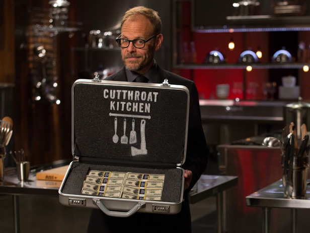 Cutthroat Kitchen via The Food Network